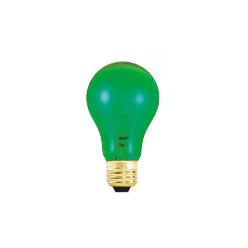 Bulbrite Industries 25W Green 120-Volt Incandescent Light Bulb