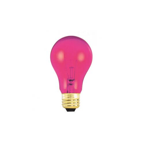 Bulbrite Industries 25W Pink 120-Volt Incandescent Light Bulb