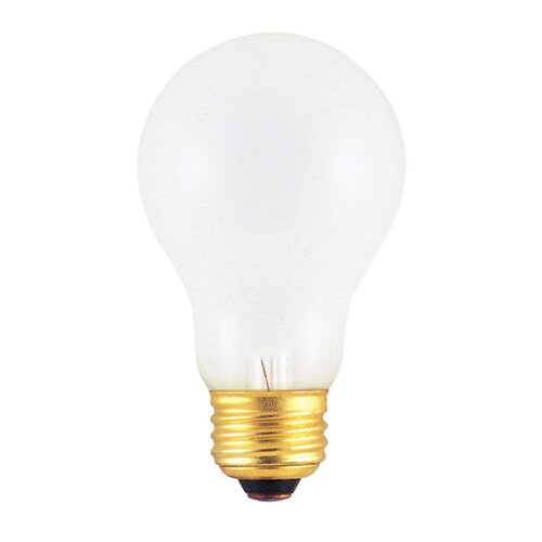 Bulbrite Industries Incandescent A19 Rough Service Bulb