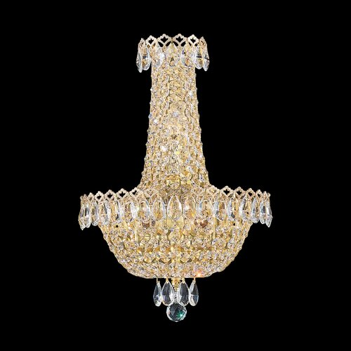 Schonbek Camelot Three Light Wall Sconce