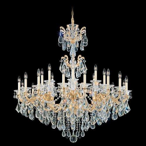 Schonbek La Scala 24 Light Chandelier