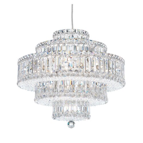 Schonbek Plaza 22 Light Drum Pendant