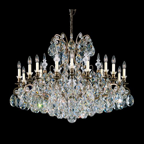 Schonbek Renaissance 18 Light Chandelier