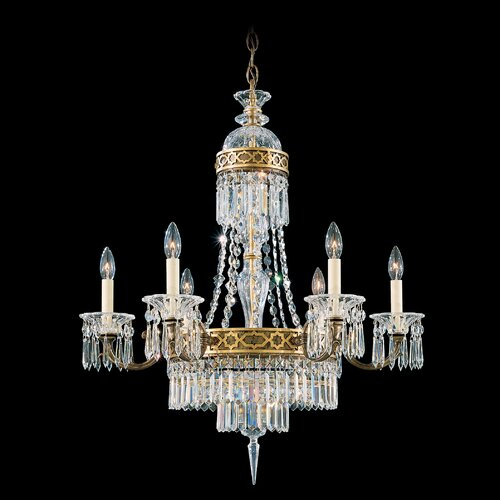 Schonbek Romanoff 6 Light Chandelier