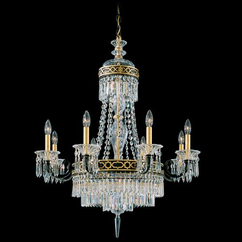 Schonbek Romanoff 10 Light Chandelier