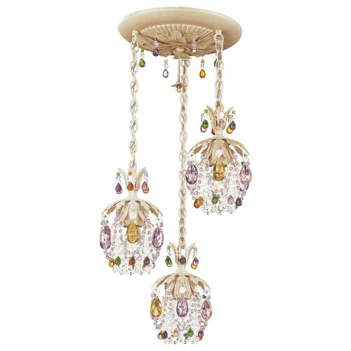 Rondelle 3 Light Foyer Pendant