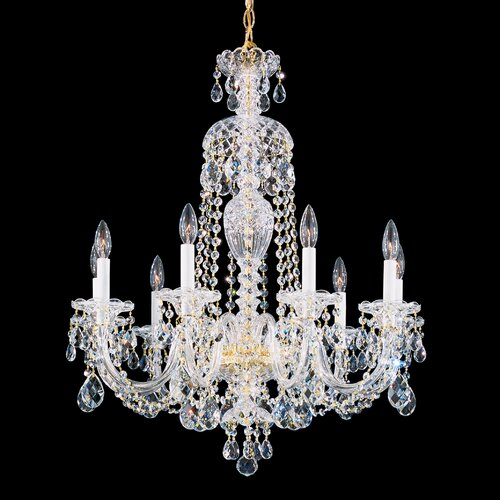 Schonbek Sterling 9 Light Chandelier
