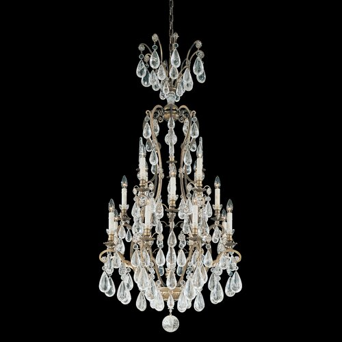 Versailles Rock Crystal 16 Light Chandelier