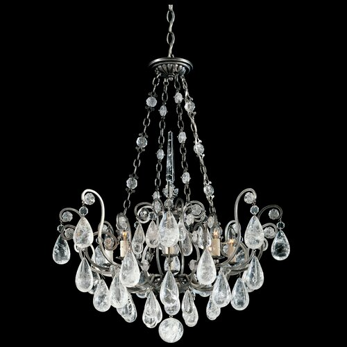 Schonbek Versailles Rock Crystal 8 Light Pendant