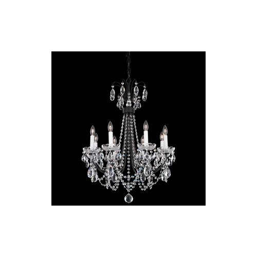 Schonbek Lucia 8 Light Chandelier