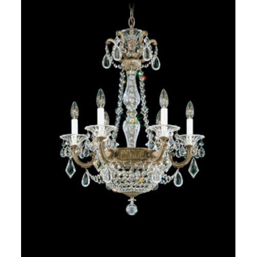 Schonbek La Scala Empire 6 Light Chandelier