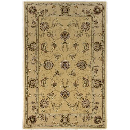 Silk Pearl Light Gold Rug
