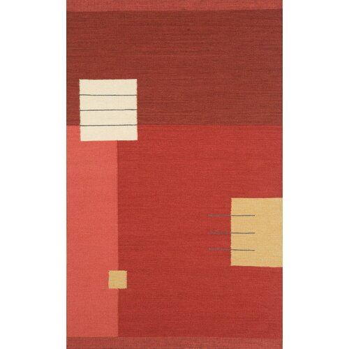 Continental Rug Company Nouveau Light Red Rug