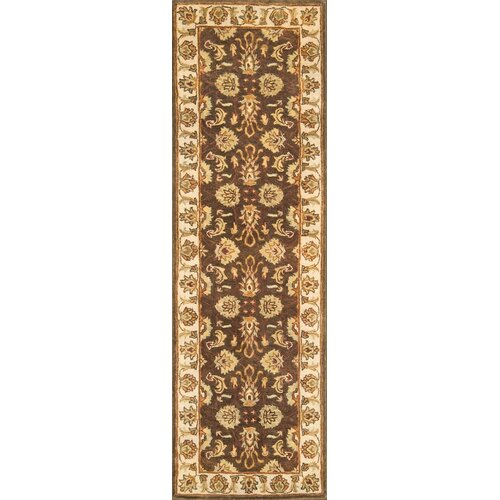 Continental Rug Company Meadow Breeze Dark Brown Rug