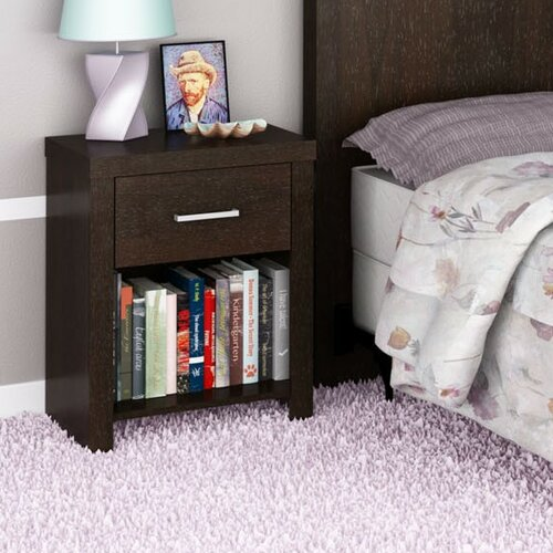 Hollow Core 1-Drawer Nightstand