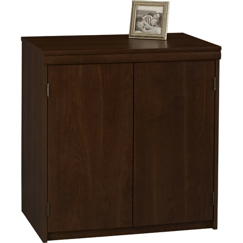 "Ameriwood Industries 29.5"" 2 Door Storage Cabinet"