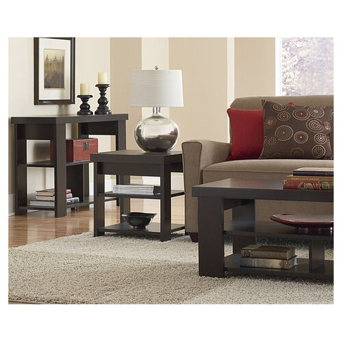 Ameriwood Industries Hollowcore End Table