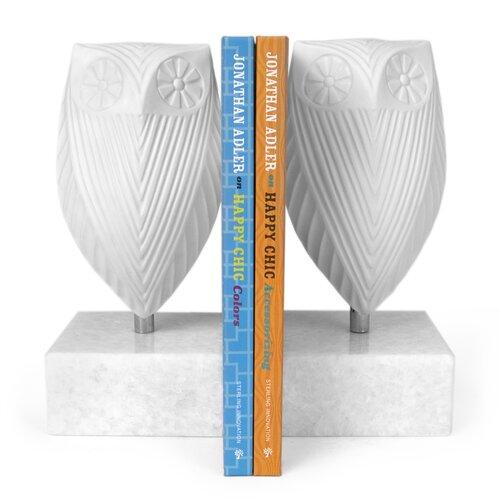 Jonathan Adler Owl Book Ends