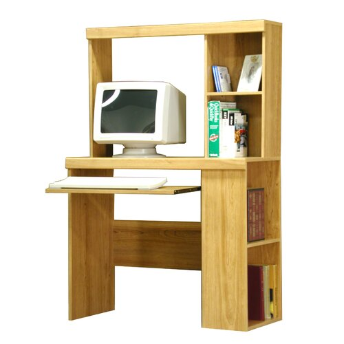 "Rush Furniture Charles Harris 36"" W Bookcase Computer Desk"