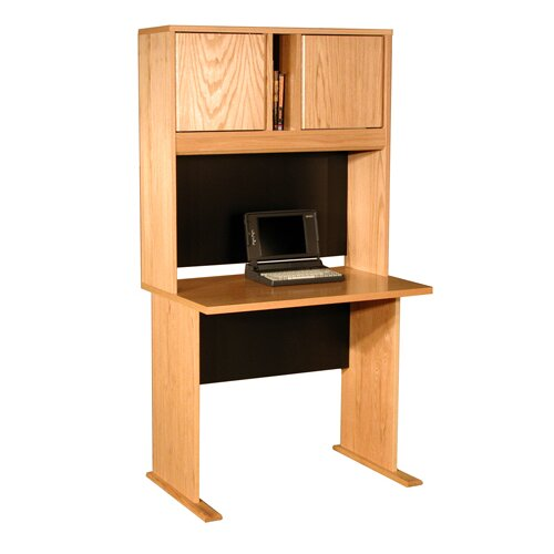 Rush Furniture Office Modulars Standard Computer Desk Office Suite