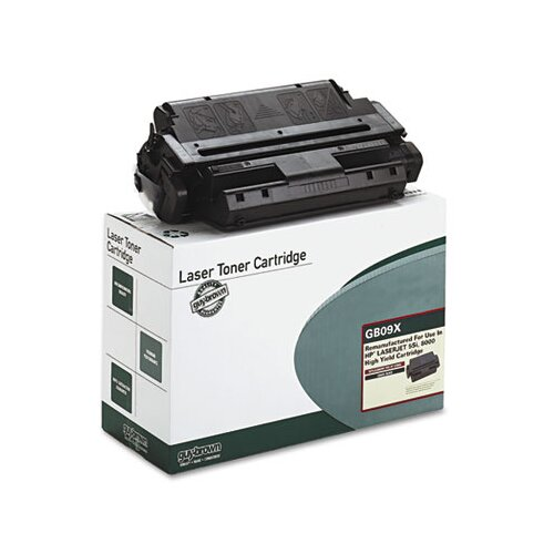 Guy Brown Products GB09X (63H5721, C3909X) Laser Cartridge, High-Yield, 17000 Page-Yield, Black