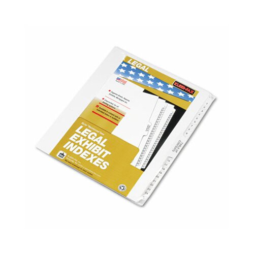 Kleer-Fax, Inc. 80000 Series Legal Exhibit Index Dividers