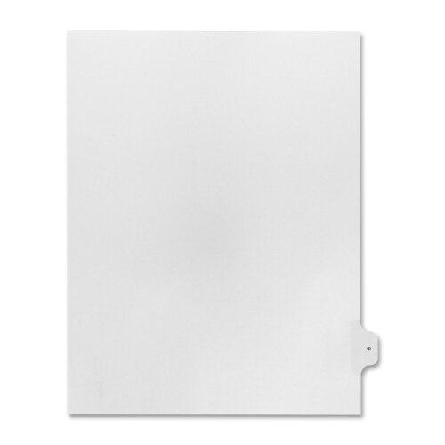 Kleer-Fax, Inc. Numerical Index Dividers, Exhibit 9, Letter, 10/BX White