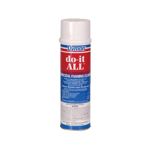 Dymon® Do-it-ALL Germicidal Foaming Cleaner Aerosol Can (case of12)