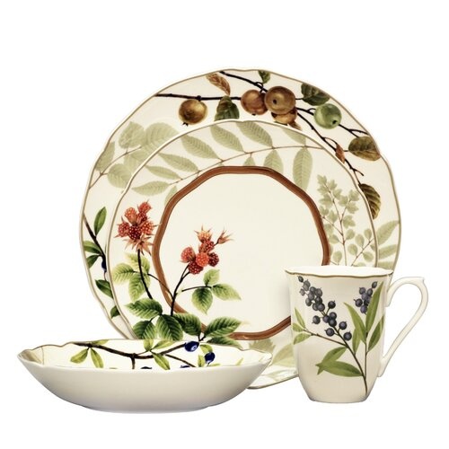Berries and Brambles 4 Piece Place Setting