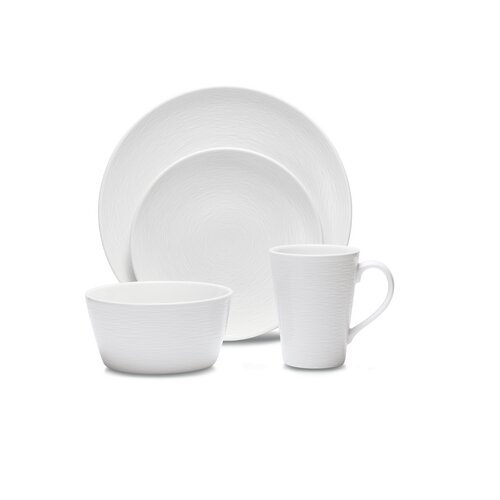 WoW Swirl 4 Piece Place Setting