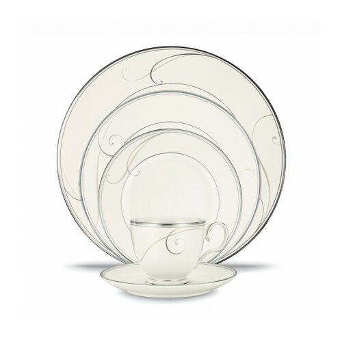 Noritake Platinum Wave 5 Piece Place Setting