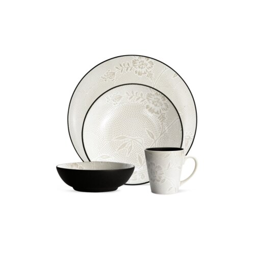 Colorwave Bloom Coup 4 Piece Place Setting
