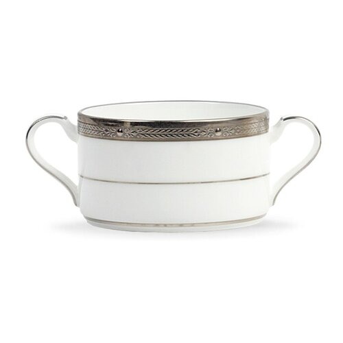Noritake Chatelaine Platinum 10.25 oz. Cream Soup Cup