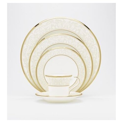 White Palace 20 Piece Dinnerware Set
