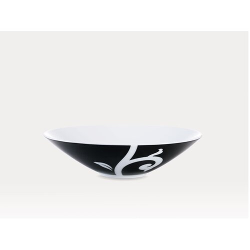 Noritake Kismet Black 23 oz. Soup Bowl