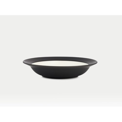 Noritake Colorwave Graphite Rim Pasta / Soup Bowl