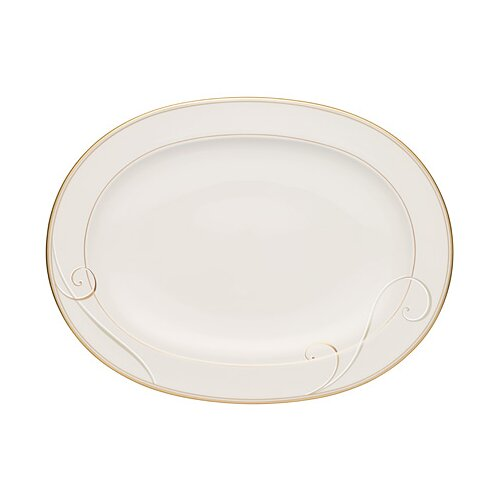 "Noritake Golden Wave 14"" Oval Platter"