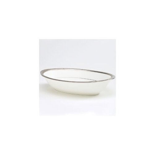"Noritake Chatelaine Platinum 10"" Vegetable Bowl"