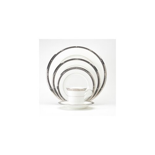 Noritake Chatelaine Platinum 5 Piece Place Setting