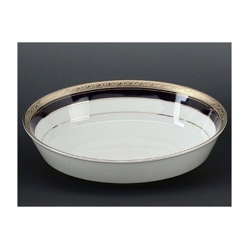 Noritake Crestwood Cobalt Platinum Salad Vegetable Bowl