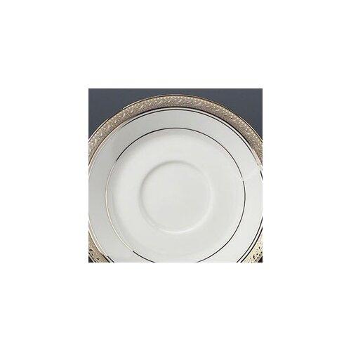 "Noritake Crestwood Platinum 6"" Saucer"