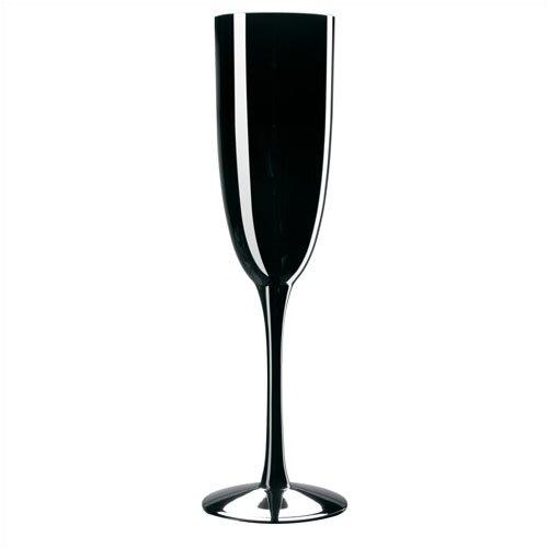 Palais Black Champagne Flute