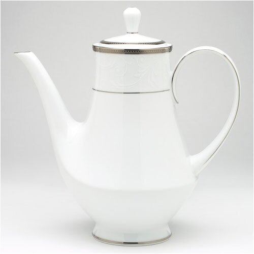 Noritake Regina Platinum 6 Cup Coffee Server