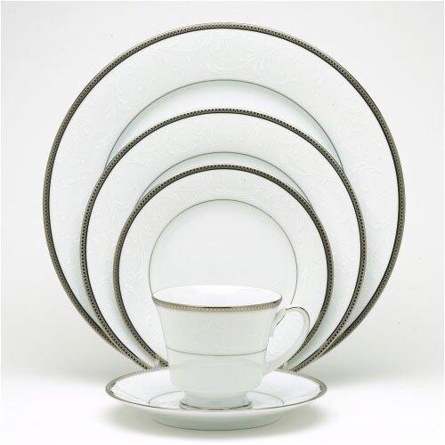 Noritake Regina Platinum 20 Piece Dinnerware Set