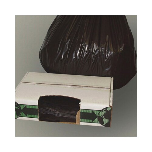 "Essex® 40"" x 48"" Linear Low-Density Ecosac in Black"
