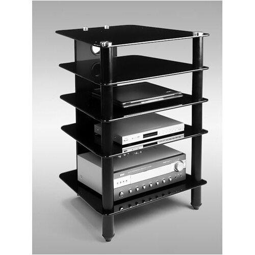 RTA Home And Office AVM 5 Shelf Audio Rack