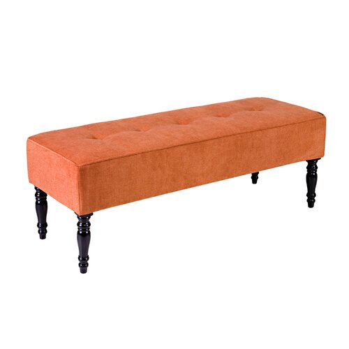 Upholstered Foyer Bench With Back : Handy living brighton hill upholstered entryway bench
