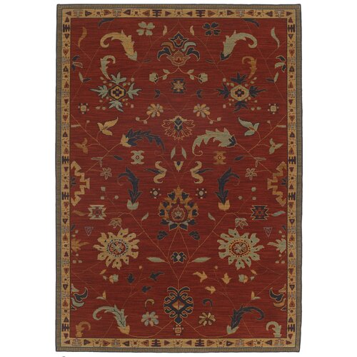 Karastan English Manor Red Preston Rug