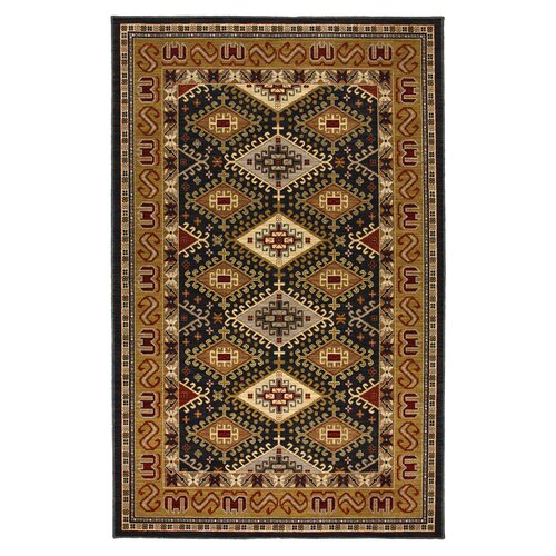 Karastan Crossroads Black Addison Rug