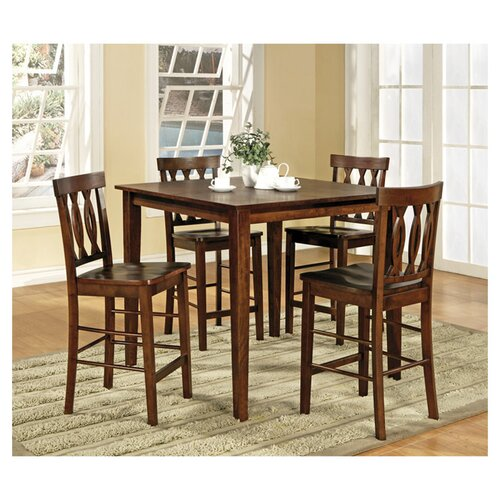 Steve Silver Furniture Richmond 5 Piece Counter Height Dining Set
